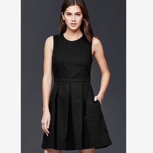 Polka Dot Fit and Flare Dress NWOT